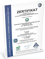Zertifikat PEFC Chain Of Custody 2019