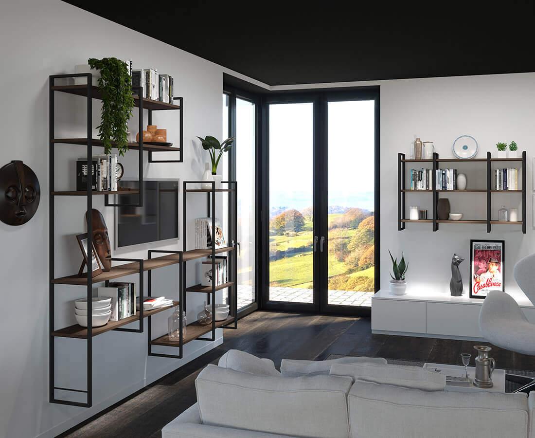 Regalsystem YouK Wohnzimmer