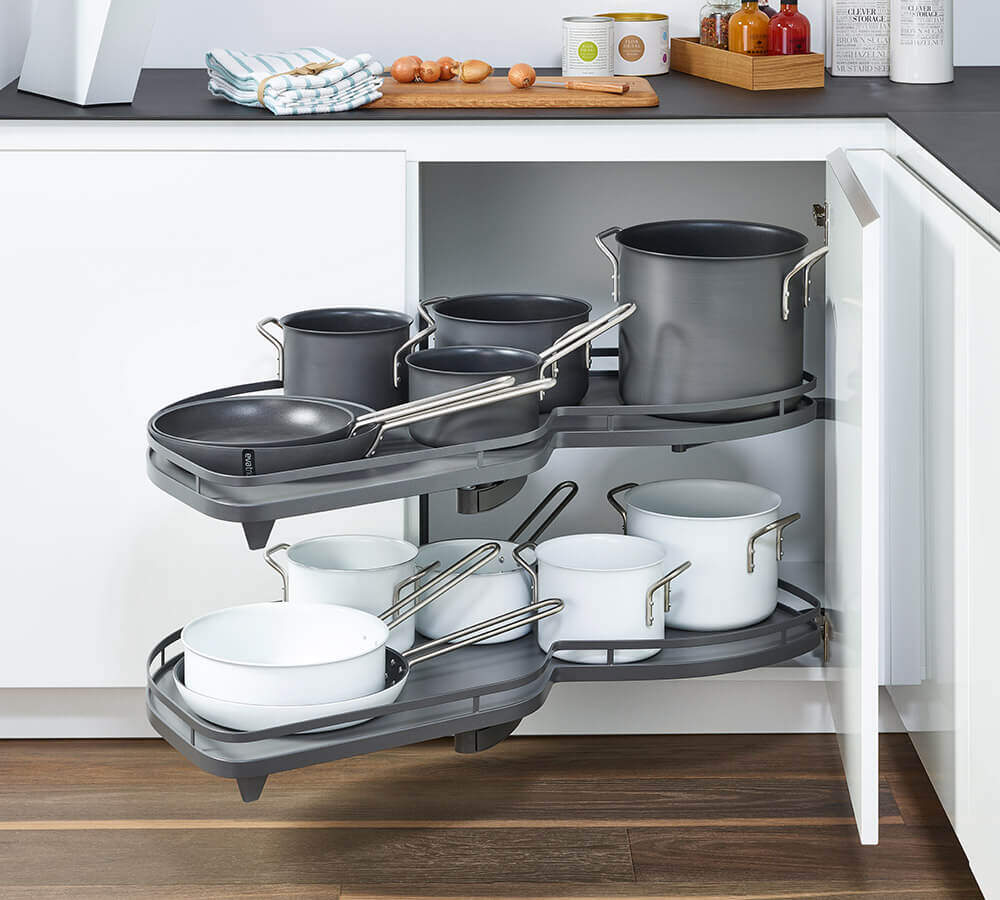 Lemans Kitchen Unit Pull Out For Pots And Pans Kesseböhmer