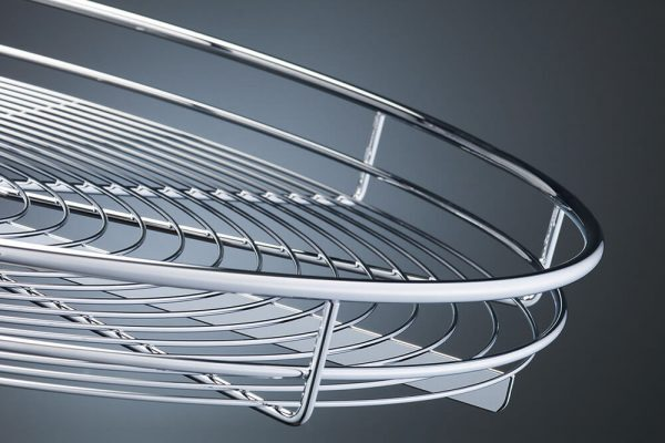 Metal basket chrome